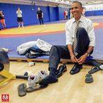 Barack Obama az általunk készített szőnyegen
